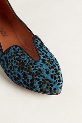 Anthropologie Lydia Cutout Loafers