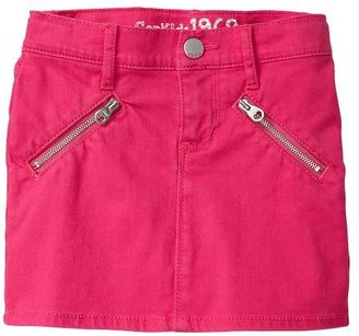 Gap 1969 Zip Denim Mini Skirt