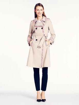 Kate Spade Fontaine trench