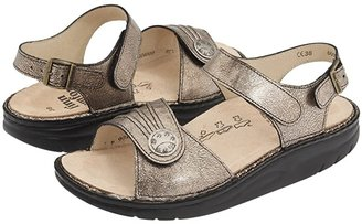 Finn Comfort Sausalito - 1572 (Espresso Corten Leather) Women's Sandals