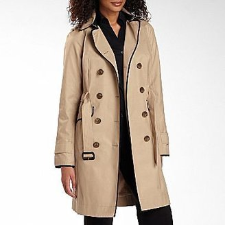 JCPenney Worthington® Long Piped Trench Coat