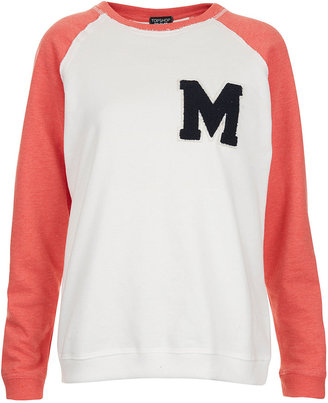 Topshop Applique M Sweat