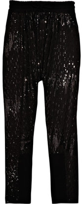 Walter Sequin-embellished knitted pants