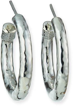 Ippolita Glamazon Silver Hoop Earrings