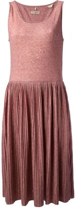 Levi's Made & Crafted pleated skirt tank dress