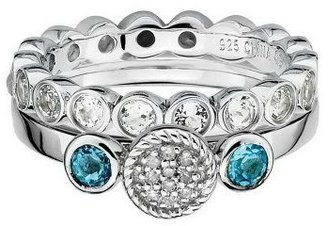 Simply Stacks Sterling Holiday Ring Set