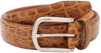 Cole Haan Croc Embossed Belt