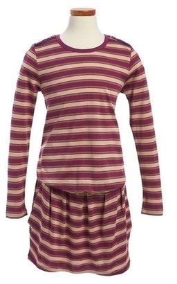 Little Marc Jacobs Long Sleeve Jersey Dress (Toddler Girls, Little Girls & Big Girls)