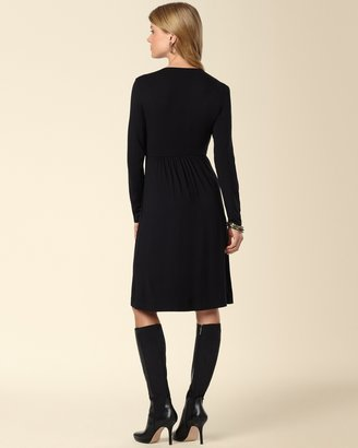 Soma Intimates Pintucked V-Neck Dress