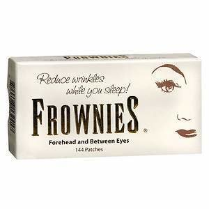 Frownies Facial Pads, Use on Forehead & Between Eyes