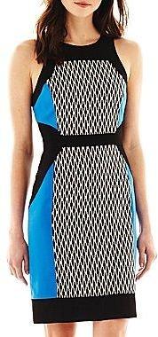 Nicole Miller nicole by Colorblock Dress