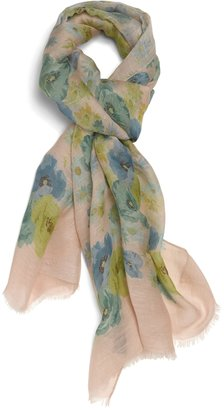 Brooks Brothers Linen Silk Oblong Scarf