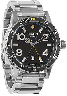Nixon The Diplomat Sterling Silver Watch