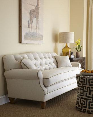 "Horchow Key City Furniture ""Ricci"" Tufted-Back Sofa"