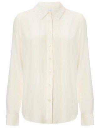 Equipment Nature White Lace Brett Shirt