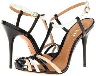 Schutz Albertinye (Preto/Pearl/Lirio Verniz) - Footwear