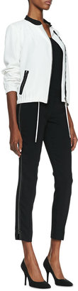 T Tahari Raquel Side-Zip Pants