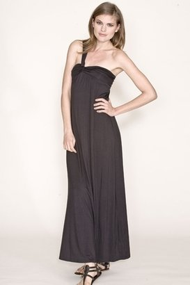Lauren Conrad Nora Long Dress in Black $270 thestylecure.com