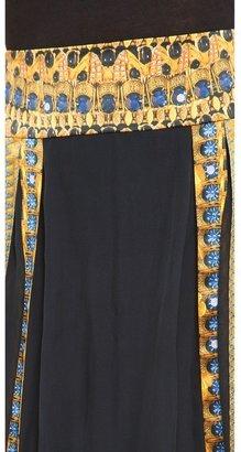 Temperley London Jasper Print Skirt