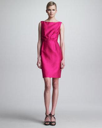 Kate Spade Evie Bow-Waist Sleeveless Dress