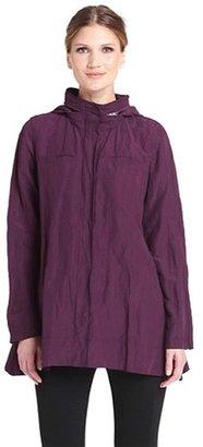 Eileen Fisher Roll Sleeve Crinkled Jacket (Regular & Petite)