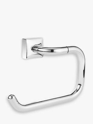 John Lewis & Partners Pure Bathroom Swing Toilet Roll Holder, Chrome