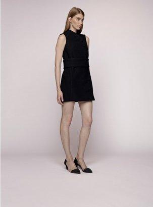Proenza Schouler Open Back Wrap Dress