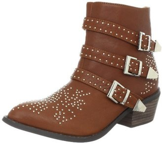 N.Y.L.A. Women's Klueless Ankle Boot