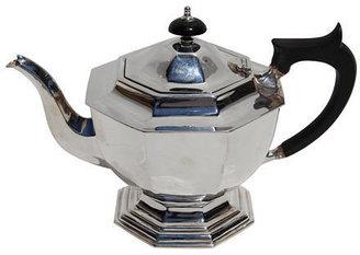 Corbell Silver Company Inc. Octagonal English Teapot, C. 1890