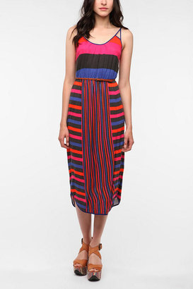 Urban Outfitters Cooperative Summer Breeze Midi Dress