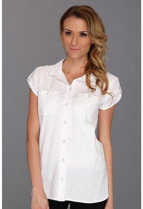 Calvin Klein Jeans Boyfriend Buttondown Shirt (White) - Apparel