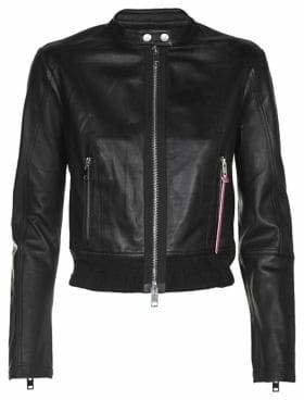 Diesel L-Lyssa-C Leather Jacket