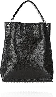 Alexander Wang Inside Out Darcy Tote In Shiny Black