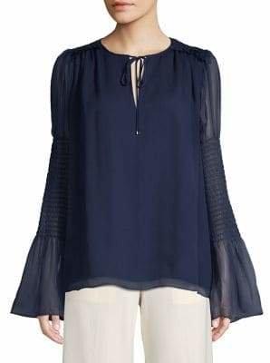 Diane von Furstenberg Classic Silk Top