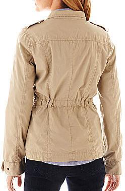 JCPenney St. John's Bay St. Johns Bay Anorak Military Jacket