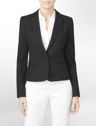 Calvin Klein Seaming Detail Suit Jacket