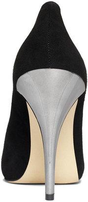 INC International Concepts Women's Piya Metallic Heel Pumps