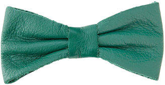 American Apparel Leather Bow Clip