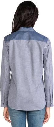 Theory Yasa C Chambray Shirt