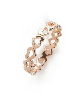 BaubleBar Eternity Heart Ring