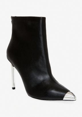 Bebe Victoria Metal Toe Leather Boot