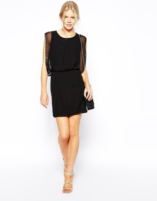 Traffic People Land of Silk Shift Dress