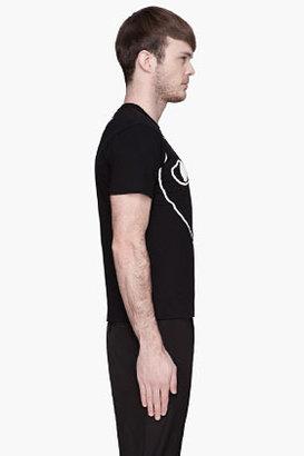 Comme des Garcons Black White Logo T-Shirt