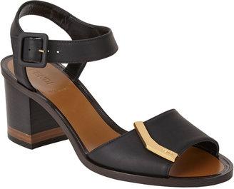 Fendi Demetra Ankle-Strap Sandals