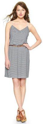 Gap Stripe cami jersey dress