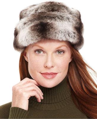 Nine West Hat, Faux Fur Cuff Cloche