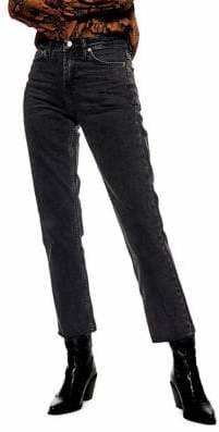 Topshop TALL MOTO Straight-Leg Jeans 34-Inch Leg