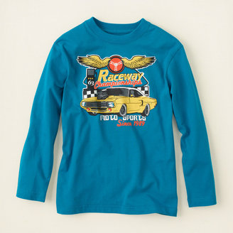 Children's Place Racer graphic tee