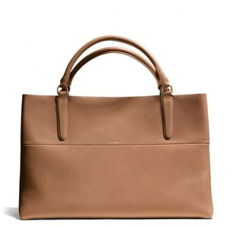 Coach The East/West Town Tote in Retro Glove Tan Leather