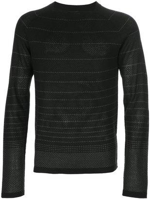 Emporio Armani square neck sweater